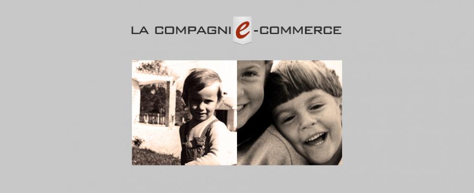 Logo la compagnie e commerce et photos associés